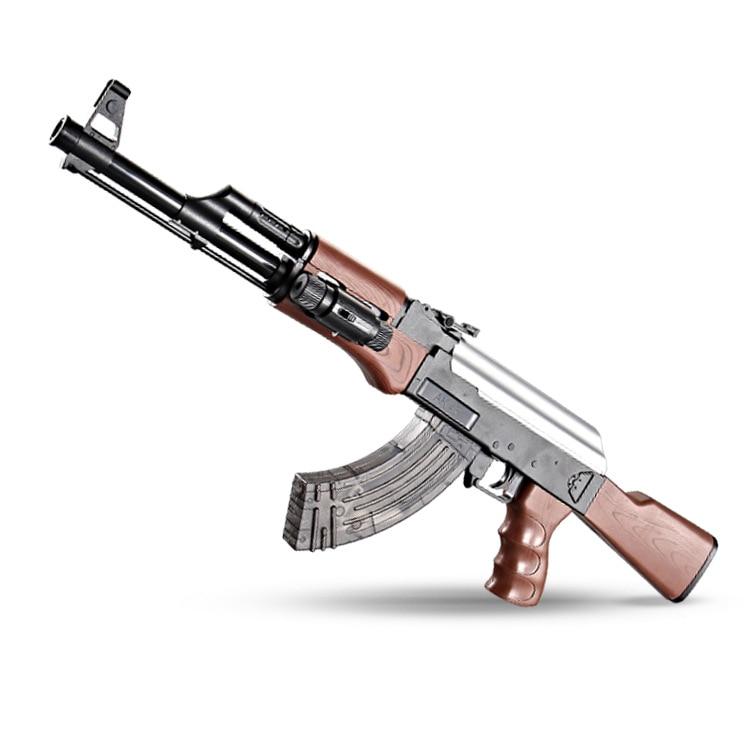 AK47 Electric Bursts Toy Gun Water Bullet Gun Children Boys Rifle Pistol Outdoor Live CS Game Manual Rifle Toys For Kids Gifts
