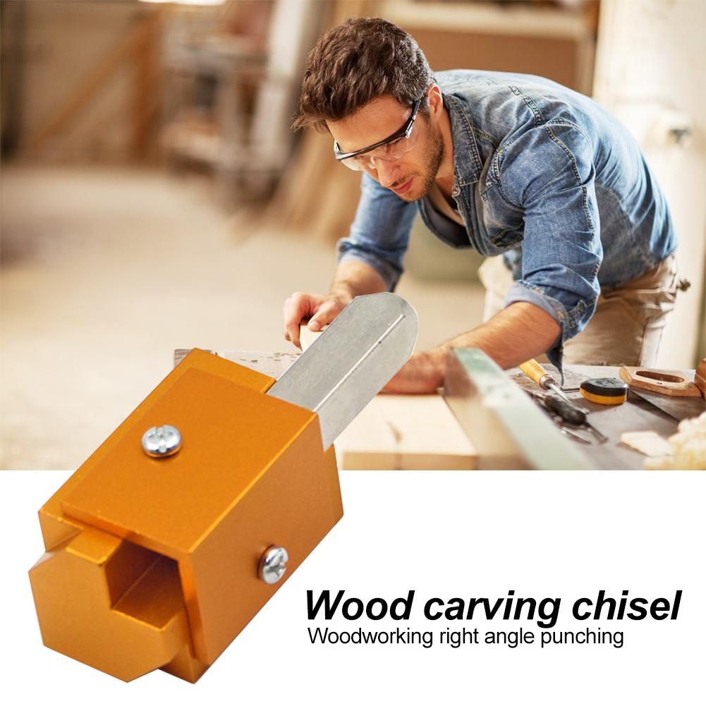 Quick Cutting Corner Chisel Wood Chisel Durable Extend Service Life Optimum Accuracy Mortising Right Angle Wood Carving Tool