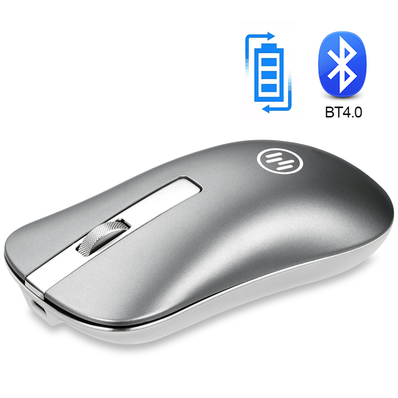 Wireless Bluetooth Mouse Wireless Rechargeable Mouse Computer Ergonomic Mice Silent Mini PC Mause 2.4GHz USB Mouse For Laptop(China)