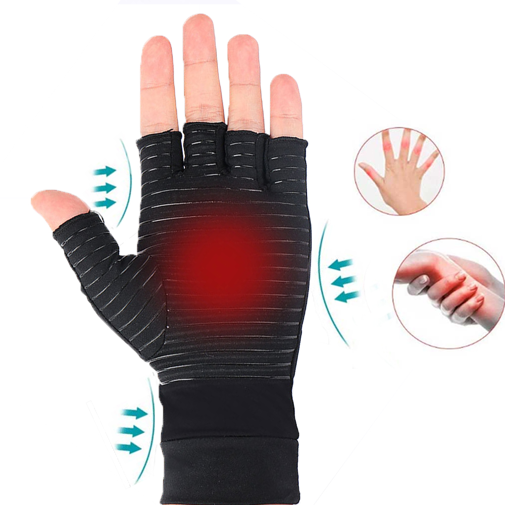Arthritis Compression Gloves Women & Men For Osteoarthritis Arthritis Tendonitis And Typing-Rapid Recovery Pain Relief