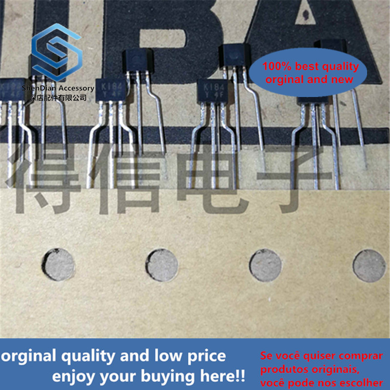 10pcs 100% Orginal New 2SK184Y K184Y K184 TO-92S Silicon N Channel Junction Type Low Noise Audio Amplifier Applicatireal Photo