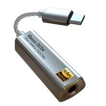 Ibasso dc04 decodificação amp tipo-c para 4.4 telefone móvel sem perdas de alta fidelidade fone de ouvido linha de decodificação de áudio