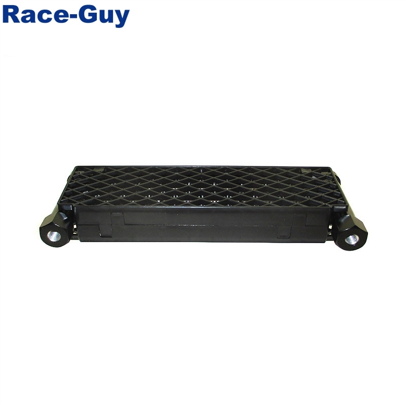 Big Size Race-Guy High Flow Radiator Oil Cooler M10x1.25 for Chinese Horizontal Oil-Cooled 125cc-190cc Engine Pit Dirt Bike