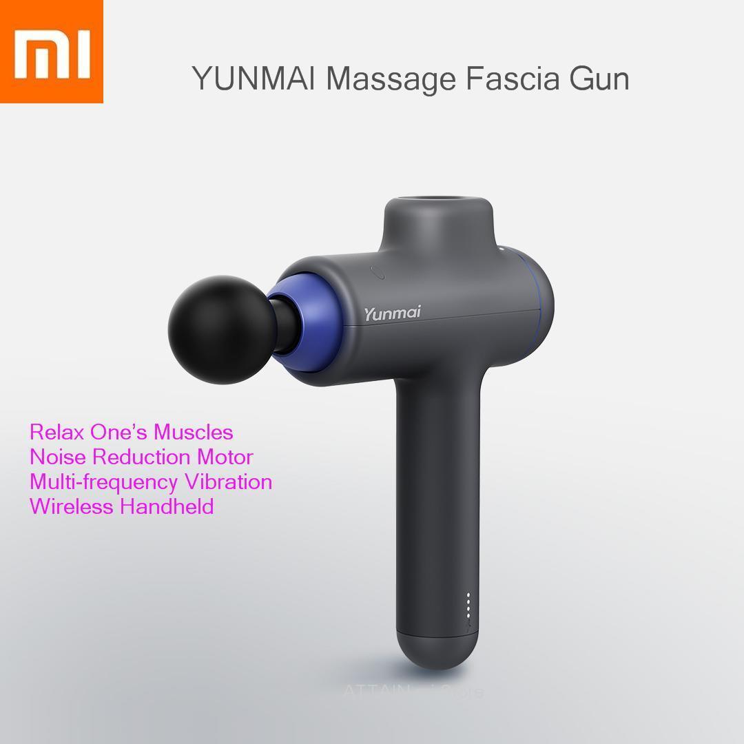 Оригинальный xiaomi Smart Yunmai Массажная фасция пистолет 3 Archives 4 головы научный массаж Xiomi беспроводной ручной для расслабляющий мышцы Спорт