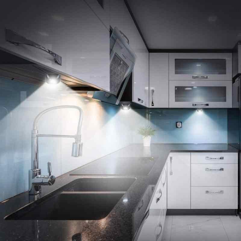 صغيرة لاسلكية LED الاستشعار ليلة ضوء مصباح PIR الأشعة تحت الحمراء الحركة المنشط مصباح لجهاز الاستشعار عن الجدار مصباح خزانة الدرج ضوء مطبخ