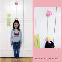 Милая детская лента для измерения роста в форме яйца, настенный измеритель роста, стедиометр, измеритель роста, лента для тела
