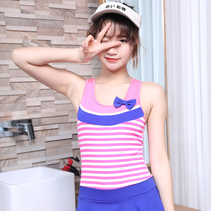 Girl'S Swimsuit One-piece Princess Dress-Cute South Korea Kids Big Boy Baby Swimming Trunks-CHILDREN'S Swimwear