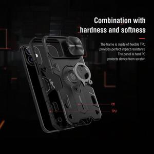 Image 4 - For iPhone 12 11 Pro Max Mini 7 8 SE 2020 Case NILLKIN CamShield Armor Cases for iPhone 11 Pro Max Cover With Ring Kickstand