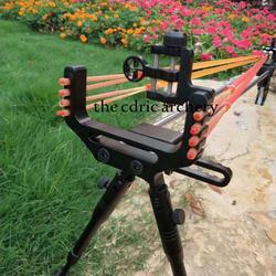 Caza Honda Rifle Doble dispositivo de seguridad Acero inoxidable Honda soporte tiro al aire libre