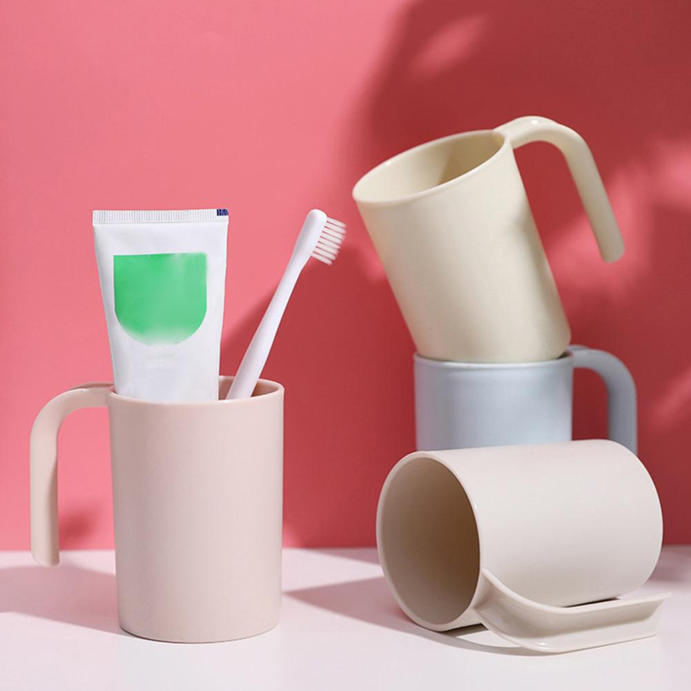 Home Bathroom Portable Brushing Toothbrush Cup Storage Organizer Mug Holder Simple Nordic Tooth Brush Storage Organizer Cup