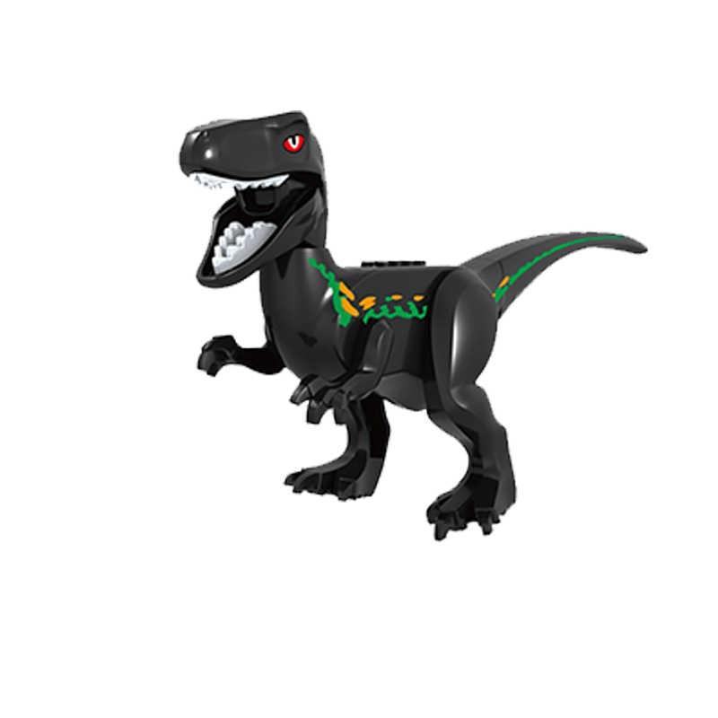 العالم الجوراسي ديناصور الثقيلة مخلب بلوتو التنين الديناصور ريكس Indominus Dilophosaurus بناء كتل الطوب لعب للأطفال