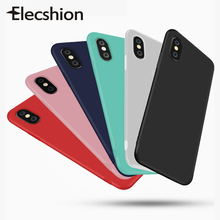 For iPhone 11 Pro Colorful Silicone Matte Case Max Candy Soft TPU Back Cover 2019 New Phone