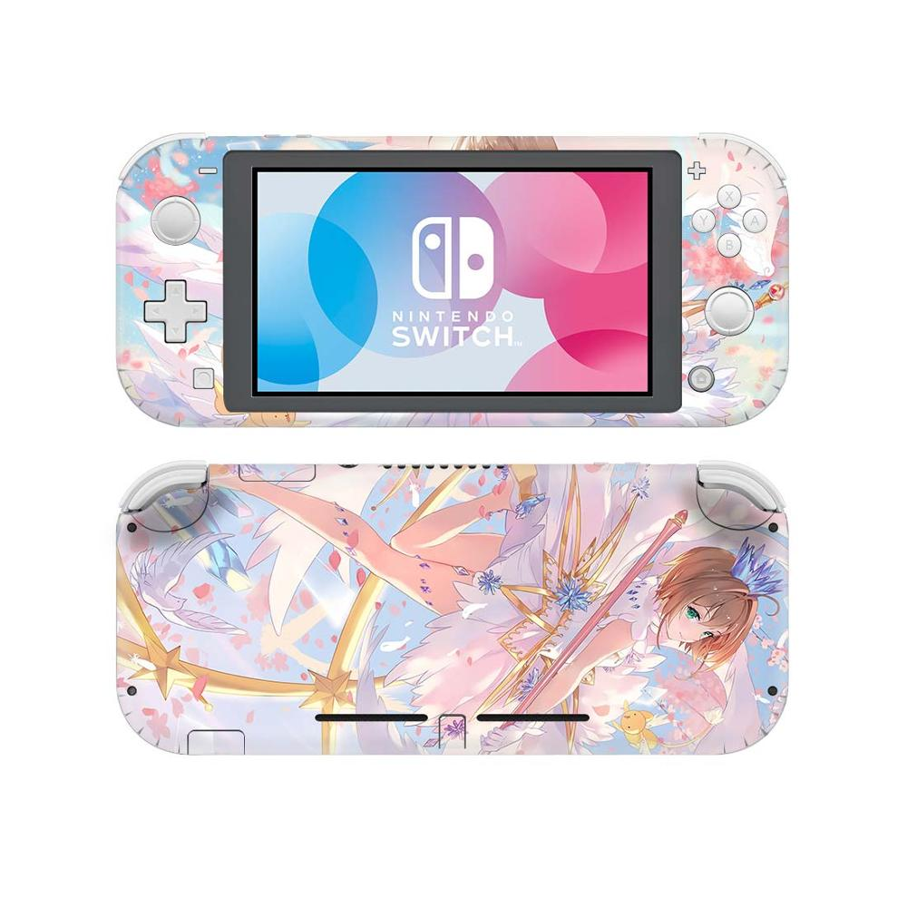 Cardcaptor Sakura NintendoSwitch Skin Sticker Decal Cover For Nintendo Switch Lite Protector Nintend Switch Lite Skin Sticker