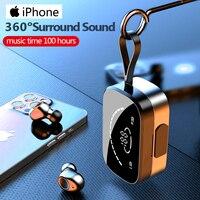 Tws Draadloze Bluetooth 5.0 Hoofdtelefoon Met Mic Koptelefoon Oordopjes Voor Apple Iphone 12 11 Pro Max X Xs Xr 8 ios Android Samsung