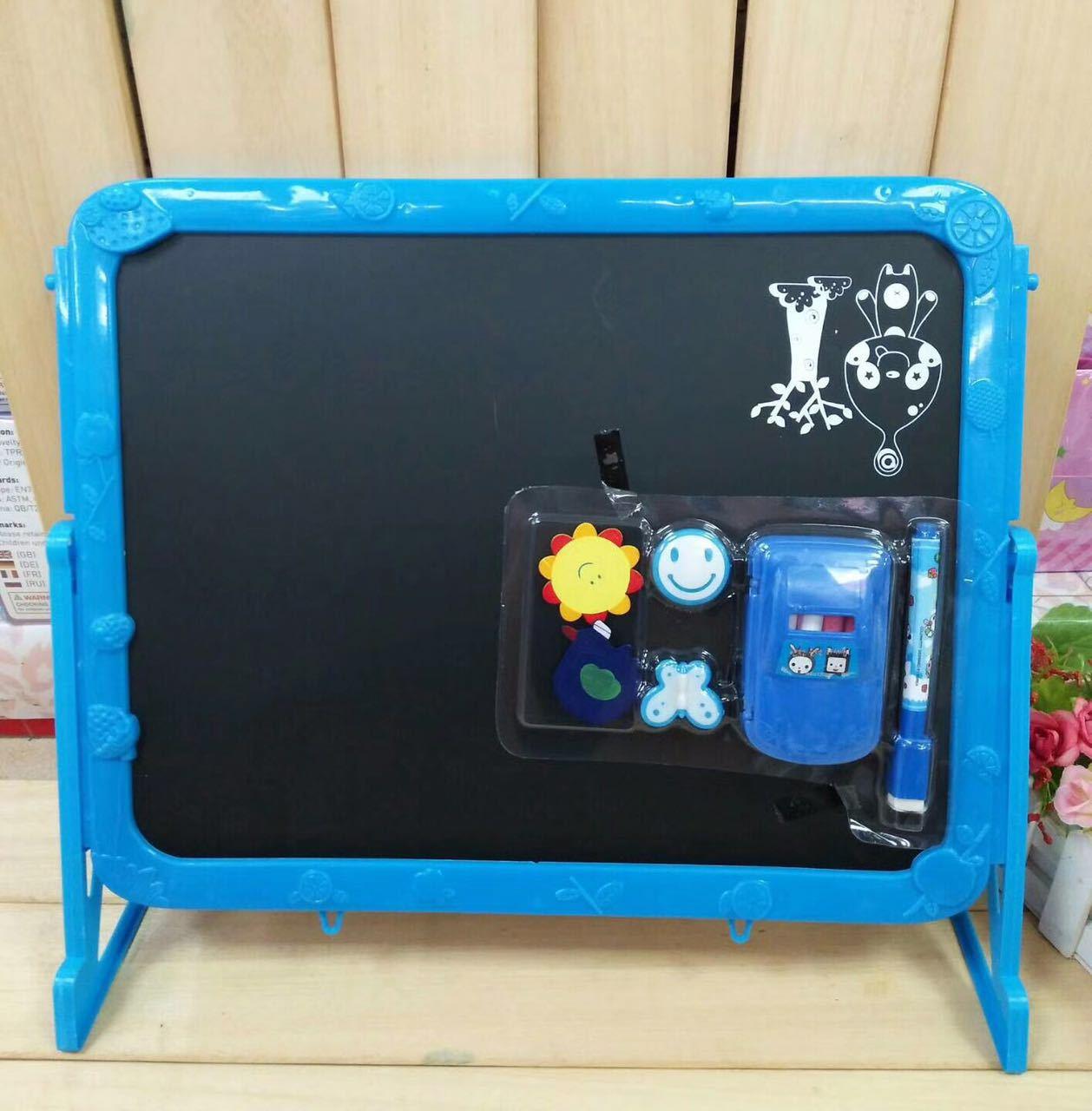 South Korea Educational Magnetic Children With Stand Blackboard Whiteboard Kindergarten Graffiti Drawing Board Mini Double-Sided