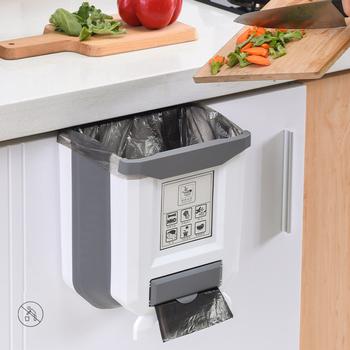 Składany kosz na śmieci kuchnia samochodowy kosz na śmieci kosz na śmieci kosz na śmieci kosz na śmieci kosz na śmieci kosz na śmieci kosz na śmieci do kuchni kosz na śmieci kosz na śmieci tanie i dobre opinie CN (pochodzenie) Ekologiczne Z tworzywa sztucznego Folding Trash Can Coffee White Kitchen Folding Trash Can Kitchen Zero Waste Recycle Bin