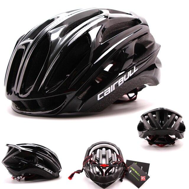 Cairbull estrada capacete da bicicleta ultraleve capacetes das mulheres dos homens mountain bike equitação ciclismo integralmente moldado capacete óculos de sol 6