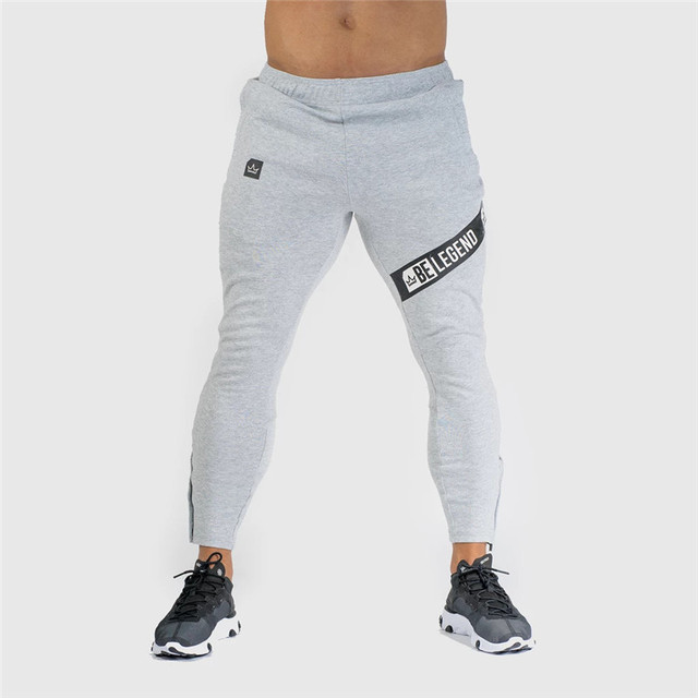 Pants Men Pantalon Homme Streetwear Jogger Fitness Bodybuilding Pants Pantalones Hombre Sweatpants Trousers Men SH 4
