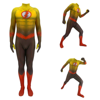 3D Printing Adult Kids Anime The Flash Cosplay Costume Zentai Bodysuit Jumpsuits Men Costume Halloween Costumes for Men Adult amazing spider 3d printing miles morales cosplay costume zentai spider pattern bodysuit jumpsuits halloween costume for adults