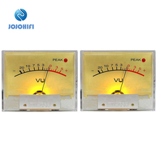 цена на 2pcs TN-65F PEAK Lamp High-precision VU Meter Table Head op amp DB Power Amplifier Mixer level lamp peak Sound Pressure Meter