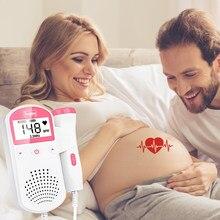Detector de frequência cardíaca fetal, doppler 2.5m, mulheres grávidas, monitor fetal
