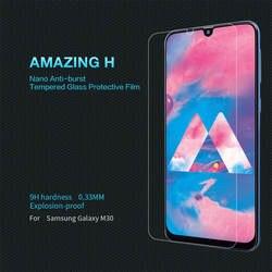 NILLKIN niesamowite H przeciwwybuchowe ochronne szkło hartowane na ekran 9H dla Samsung Galaxy M30 A30 A50 S10e M20 M10 A7 2018 wyczyść