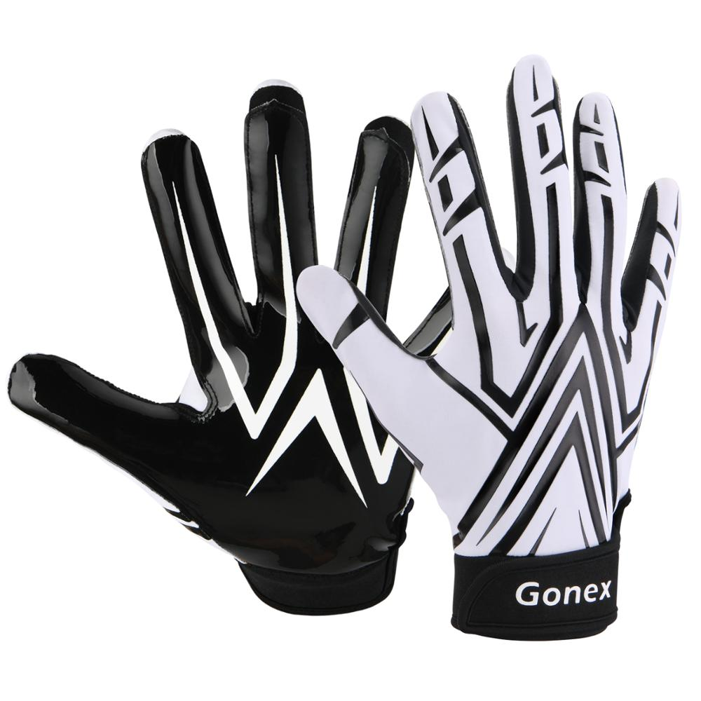 Gonex Football Gloves Adult Mens Receiver Gloves