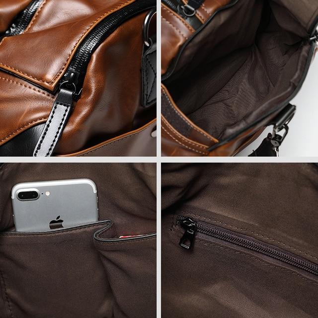Retro Male Travel Bag