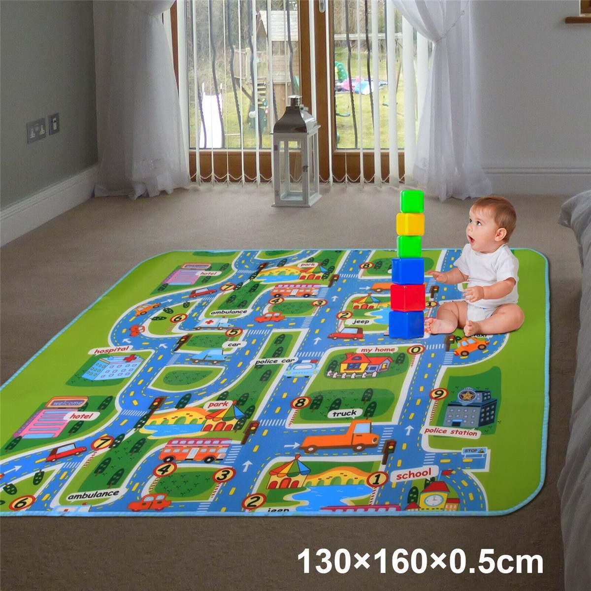 criança crawl jogar jogo piquenique tapete carta