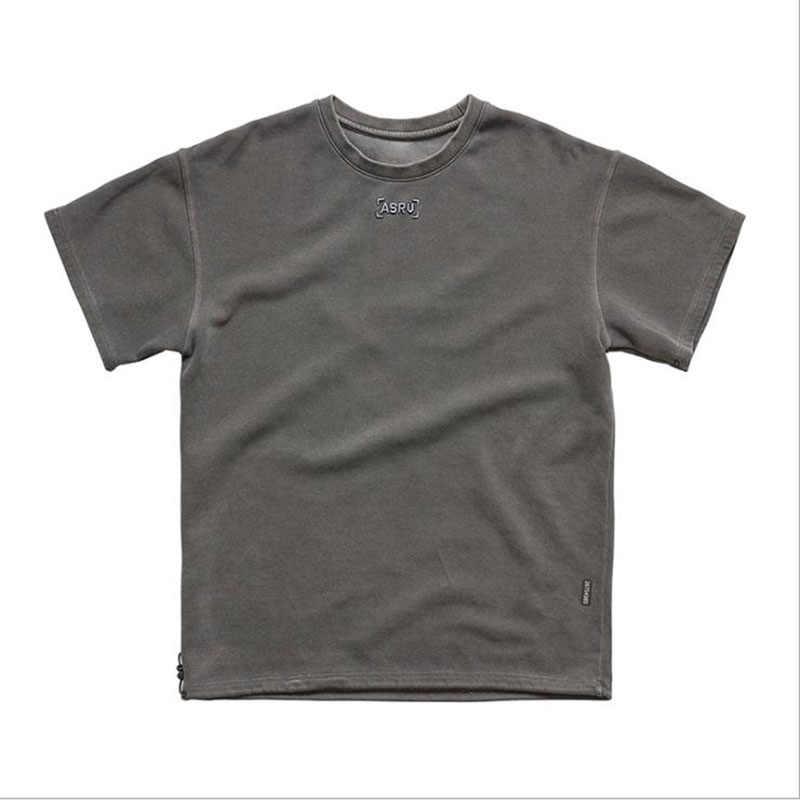 2020 Streetwear yüksek erkek tişört marka giyim yaz yeni moda rahat tasarım erkek tişört ince baskı T-shirt erkek