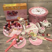 Игрушка для маленькой девочки, детский торт, детский игрушечный домик для девочек 2, 3, 4, 5, 6 лет, подарок на день рождения
