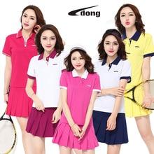 Jingdong, летняя спортивная юбка, женская, для бега, быстросохнущая, половина длины, волан, для тенниса, короткая юбка, дышащая, имитация двух-пи