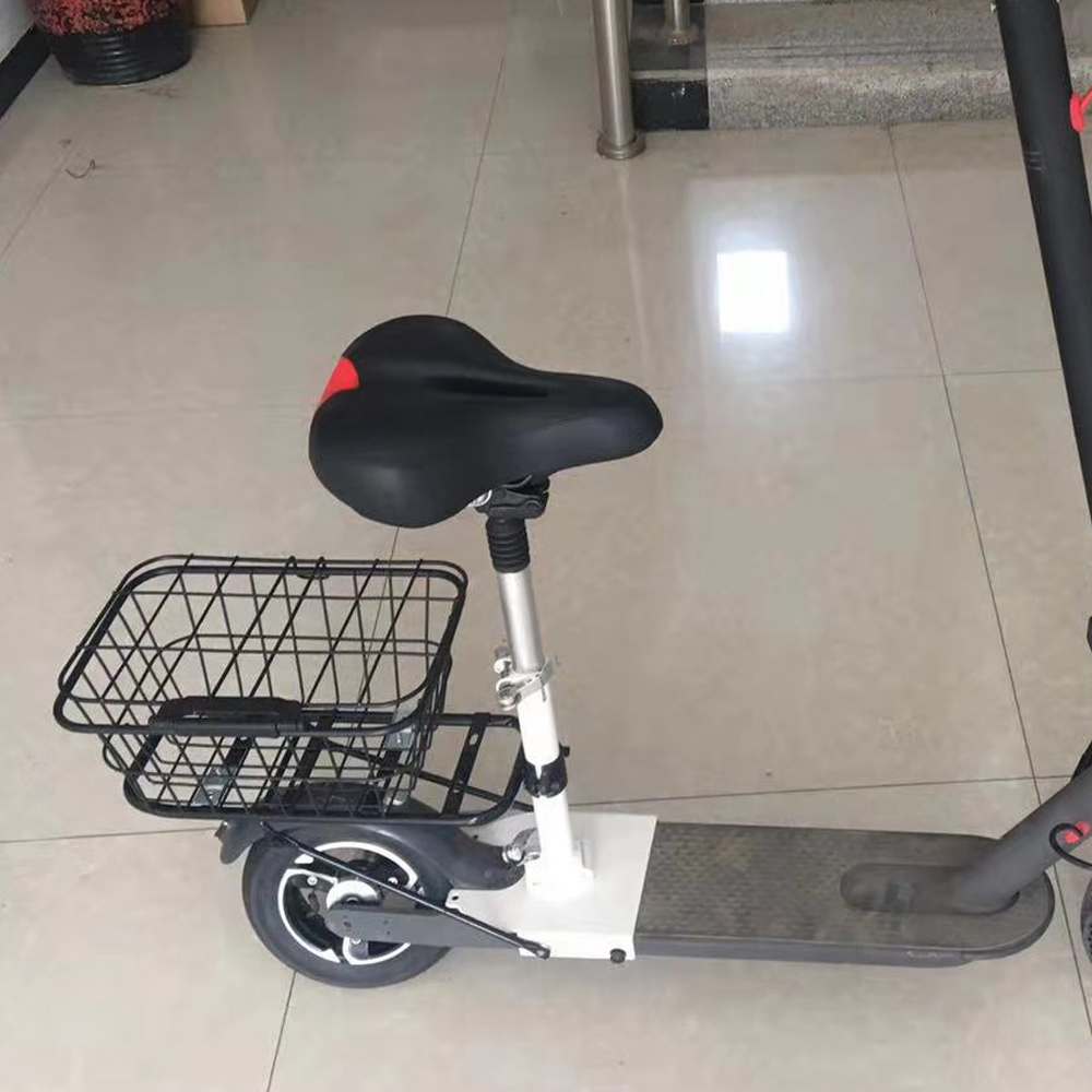 Electric Scooter Storage Basket Base Large Capacity Bag Front Handle Hanging Tote For Xiaomi  Electric Scooter M365 Accessories
