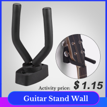 Electric Guitar Stand Wall Mount Hanger Hook Guitarra Holder for Acoustic Guitar Ukulele Violin Bass Guitar Accessories все цены