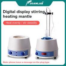 JOANLAB negozio ufficiale 1000ml mantello riscaldante elettrico digitale agitatore magnetico attrezzatura da laboratorio con regolatore termico da 110v a 220v.