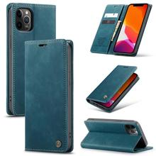 Caseme Case for iPhone 12 Pro Max Vintage PU Leather Magnetic Wallet Case Folio Cover for iPhone 12 Pro 12 Mini 2020 XR XS 11