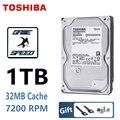 TOSHIBA 1TB Festplatte festplatte 1T 1000GB Interne HDD HD 7200RPM 32M SATA3 3,5