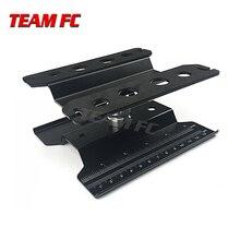 360 черная короткая Рабочая подставка, ремонтная станция, фотоподъемник или Нижняя деталь для 1/8 1/10 фототехники, автомобиль TRX4 Axial S26