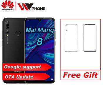 Original Huawei Maimang 8 Smartphone 6.21 inch TFT LCD 2340*1080 Screen Hisilicon Kirin 710 Octa Core Android 9 EMUI 9.0 Phone