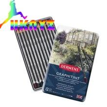 Charcoal-Pen Pencil Graphic Supply Sketch-Painting 24-Color Art 12 Lapis-De-Cor Student
