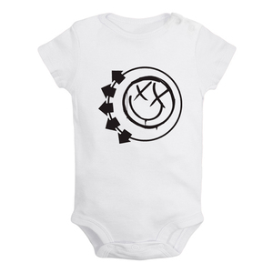 Slayer American Famous Speed Band Design Newborn Baby Boys Girls Outfits Jumpsuit Printing Infant Bodysuit Clothes Cotton Sets(China)