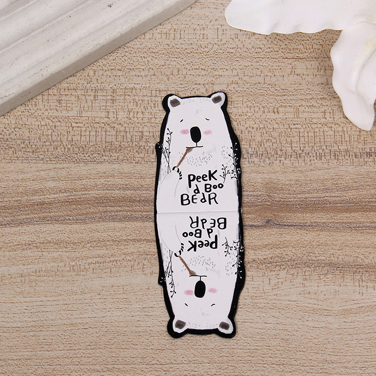 Cute Cartoon Magnetic Bookmark Creative Advertisement Page Holder Wisdom Star Po New Products Stationery Cool Bookmark