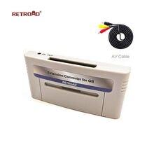 GB/GBC convertidor de extensión para 16bit SNES bolsillo para RETROAD 5PLUS HD ultraportátil Original para super Nintendo juego de consola