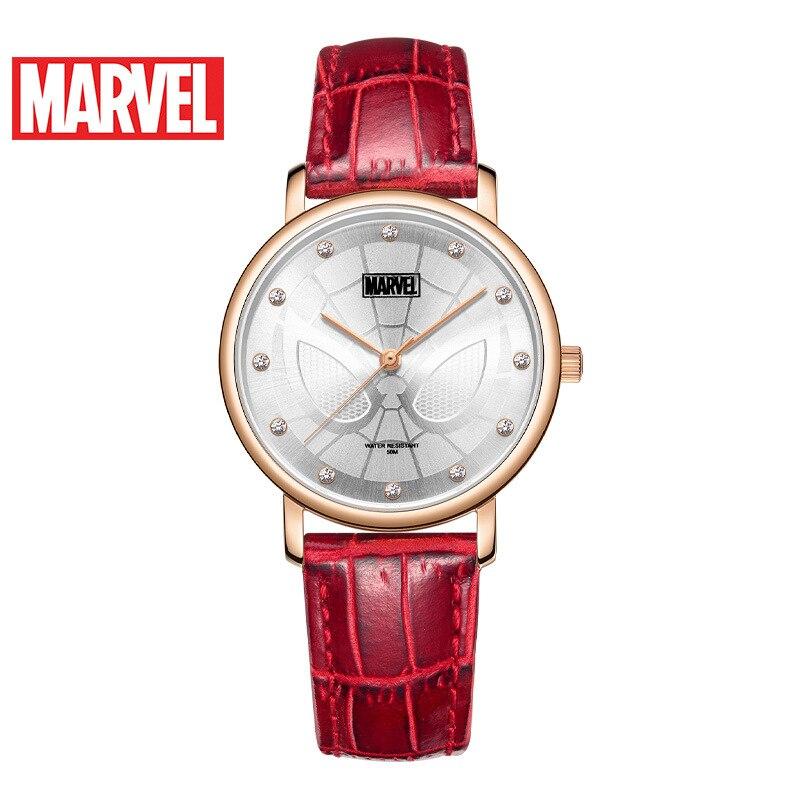 Disney Marvel Quarzuhr Gürtel Casual Persönlichkeit Student Wasserdichte Uhr Frauen Uhren Fashion & Casual 3Bar Schnalle Legierung