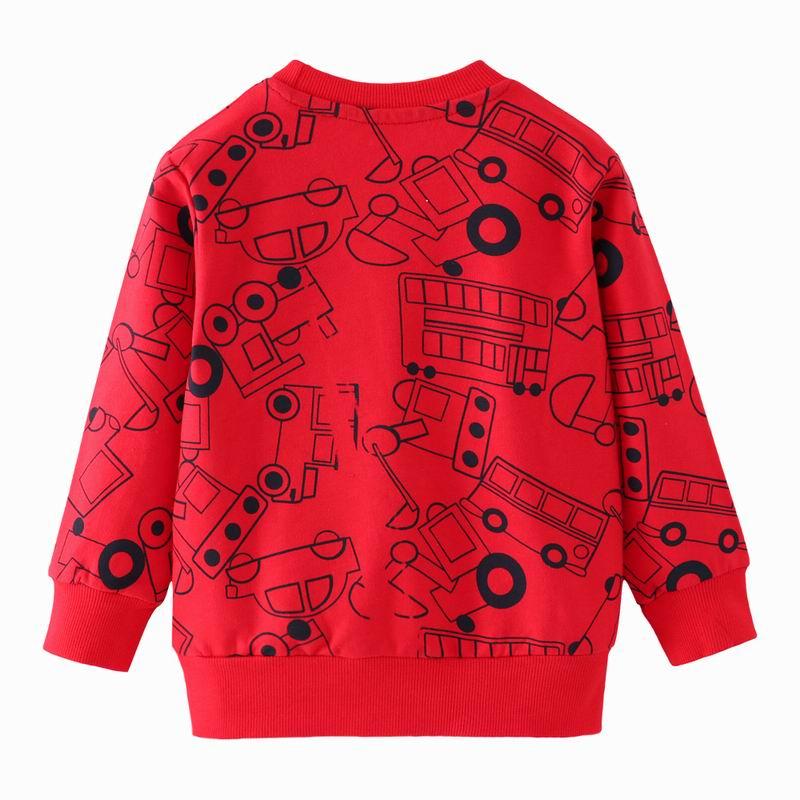 SAILEROAD a Little Boy Long Sleeve Sweatshirts Vehicle Truck Car Kids Boys Tops Autumn 2019 Hoodies for Children Shirts 2
