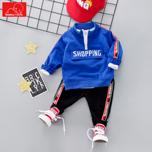 autumn spring baby boys girls tracksuit kids clothes suit sweatshirt + pants children sports set sportswear