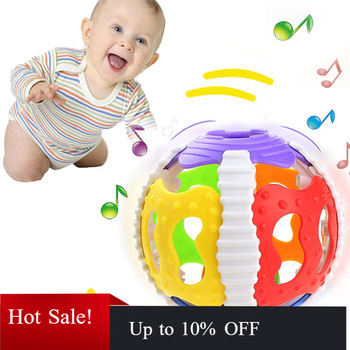 Funny Baby Toys Little Loud Bell Ball Rattles Mobile Toy Baby Speelgoed Newborn Infant Intelligence Grasping Educational Toys boys girls baby activity toy fun little loud ball toy rattles develop baby intelligence grasping toy molar hand bell rattle