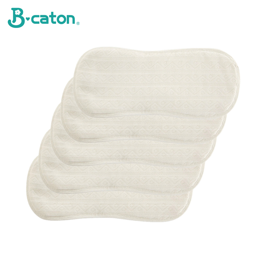 2 PCS Baby Reusable Diaper Cotton Cloth Diapers Baby Washable 3D Solid Fabric Thickened Absorbent Cotton NoFolding 0-12months