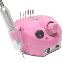 30000RPM narzędzie do Manicure Pedicure elektryczny pilnik wiertarski urzadzenie do stylizacji paznokci polerowanie kształt narzędzia KG66