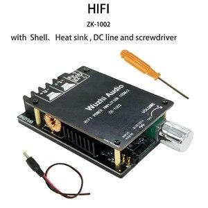Image 4 - ZK 1002 HIFI 100WX2 TPA3116 Bluetooth 5.0 yüksek güç dijital amplifikatör Stereo kurulu AMP Amplificador ev sineması
